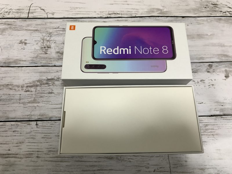 Xiaomi Redmi Note8 Global Versionレビュー